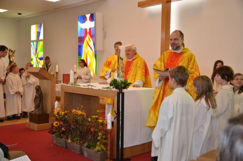 Eröffnung Kirchenraum Neu