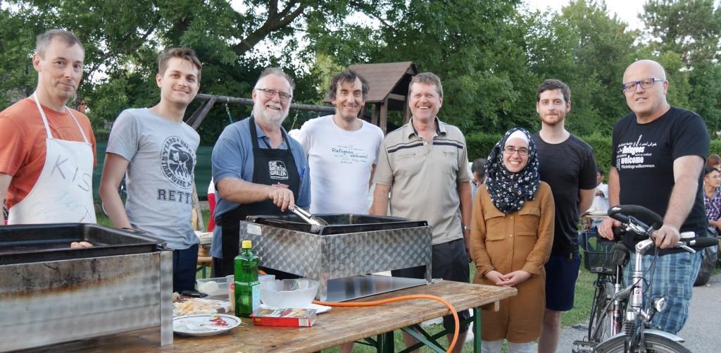 griller team interkulturelles grillfest